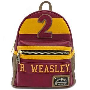 Harry Potter Weasley/Gryffindor Mini Backpack